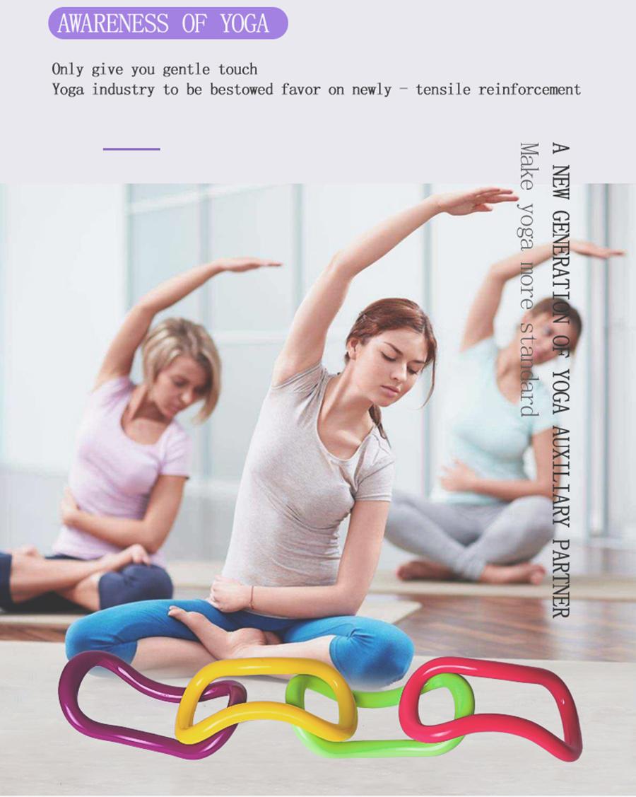 Buy Yoga Ring Pilates Ring Exercises Circle Yoga Product On Xiamen Sanfan Sports Products Co Ltd