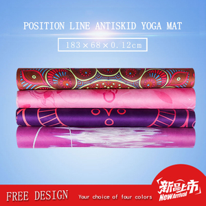 Fun Print Unique Fabric Best Yoga Mat For Hot Yoga