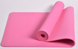 Custom Print Soft Natural Eco Friendly Exercise Yoga Mats