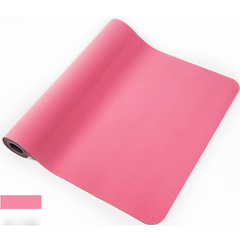 PU Leather Sticky Pink Hot Yoga Mat Sale