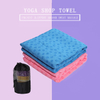 Best Anti Slip Yoga Mat Towel Made of Microfiber with Silicone Dots Wholesale