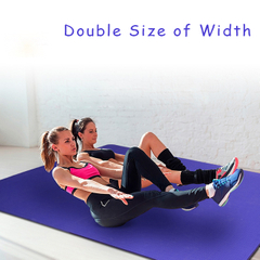 Extra Wide Large Yoga Mat 8mm Thick for Sale