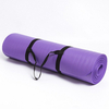 High Density Thick 15mm Exercise NBR Printing Yoga Mat custom Logo Wholesale