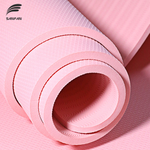 Custom TPE Yoga Mat with Anti-slip And Eco-friendly, Fit for Yoga Beginners, Basic Level Yoga Mat