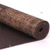 Eco-Friendly Non-Toxic Hemp Reversible Organic Natural Jute Yoga Mat