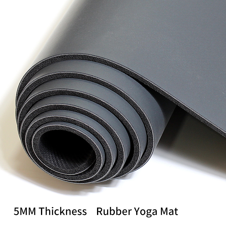 PU Natural Rubber Yoga Mat--Eco-friendly , 100% Recyclable