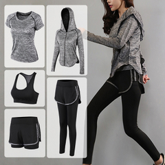 Hot Latest Design Custom Logo Sport Wear Yoga Set Gym Suits Running Women Fitness Sets