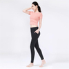 Custom women yoga fitness wear set lady sport cloth