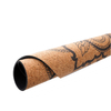 High Quality Eco Friendly Round Cork Rubber Yoga Mat