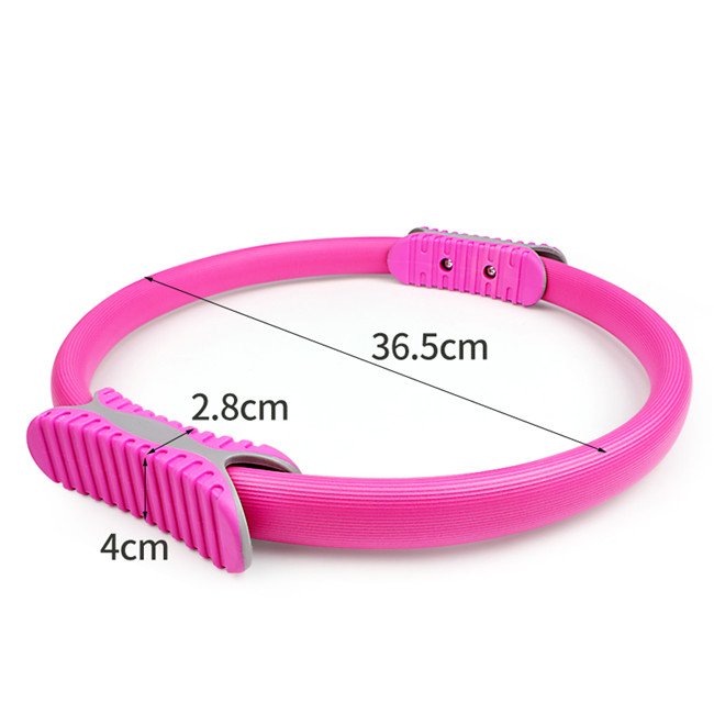 High quality circle Gymnastic pilates yoga ring Fitness Custom Printed Pilates Ring