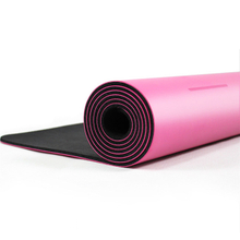 Natural Pu Rubber Yoga Mat--Custom Print Logo