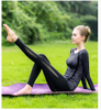 Tracksuit for Women Yoga Workout Fitness Running Athletic Sports Gym Running 4 Colours Selection Body Shaper
