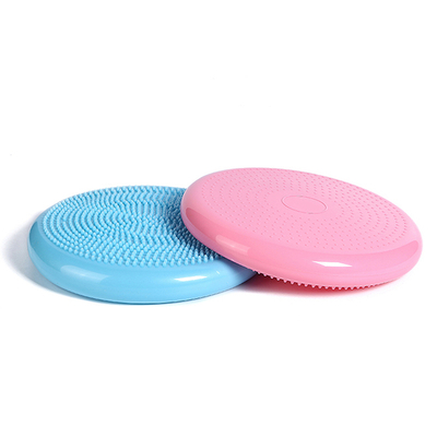 PVC Flexible Seating Inflatable Massage Stability Wobble Cushion Wiggle Seat Extra Thick Core Balance Disc