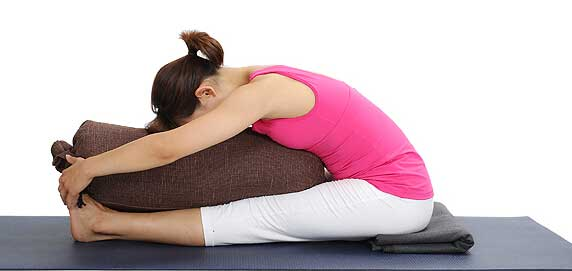 The Usage of Breathable Yoga Bolster!