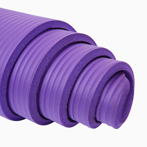 Manufacturer Non-toxic Eco Friendly Anti Tear Extra Thick High Density NBR Foam Yoga Mat