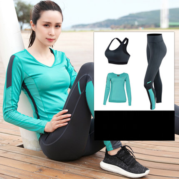 2019 Hot sales sportswear Women tights leggings Fitness Yoga Gym Suits