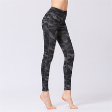 Factory Wholesale Fitness High Waisted Leggings Camo Printed Tummy Control Yoga Pants Workout Leggings